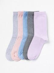 5-pack sockor Lila