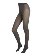 Tights in Cashmere Blend  Grey