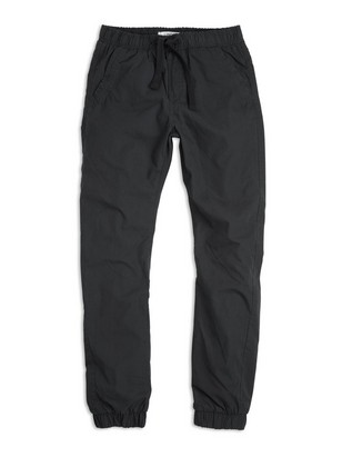 Loose Lined Trousers Black
