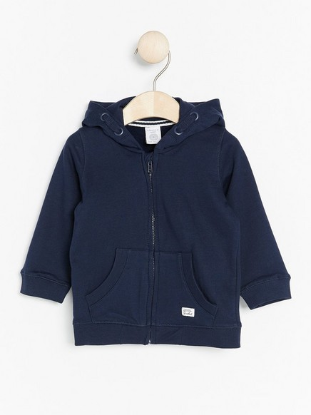 Hooded Sweater Blue