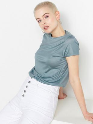 Tencel® Jersey Top Blue