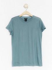 Jersey Top in lyocell  Blue