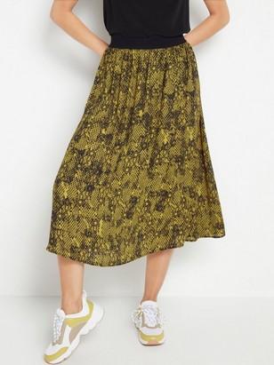 Midi sukně Černá