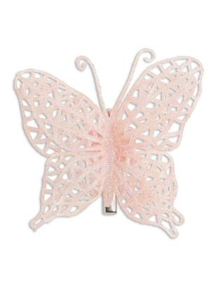 Butterfly Hair Clip Pink