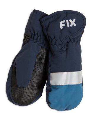 FIX Ski Mittens Black