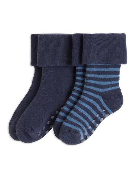 Sada dvou párů ponožek Modrá