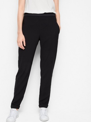 AVA Tapered Trousers Black