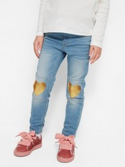 Slim Jersey Jeggings Blue