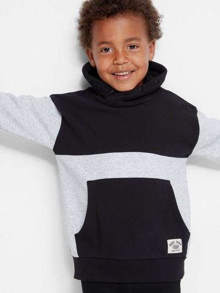 Funnel Neck Sweater Black