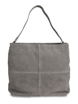 Suede Bag Grey