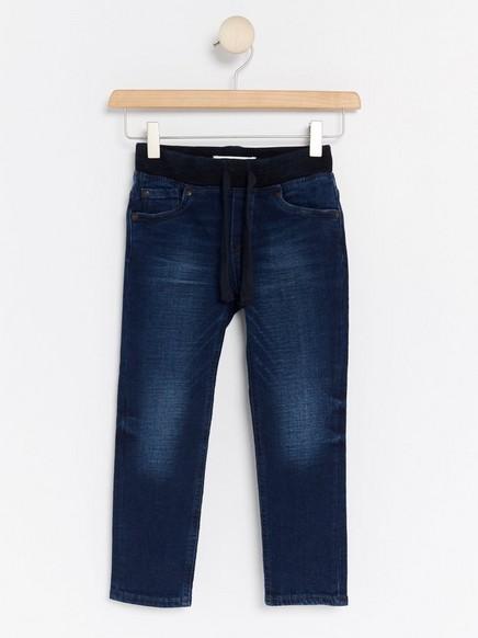 Jeans med vanlig passform Blå
