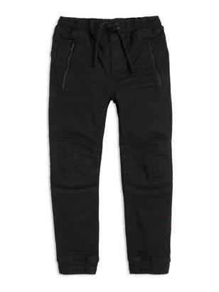 Jeans med vanlig passform Svart