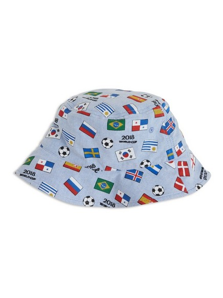 Patterned Sun Hat White