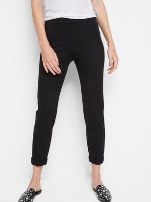 Iris Slim Trousers Black