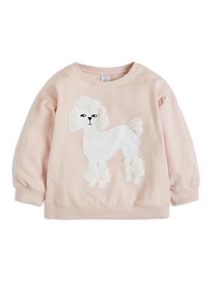 Sweater with Puff Sleeves Pink