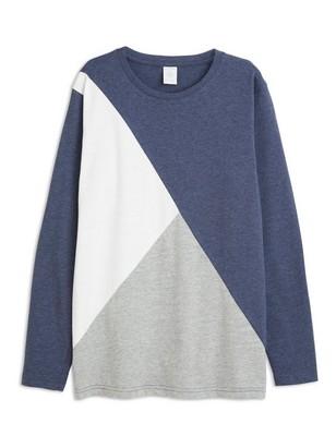 Pitkähihainen t-paita Sininen