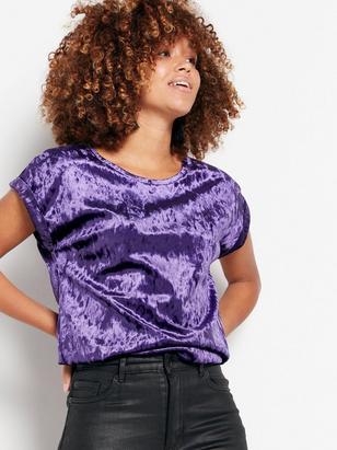 Velvet Top Lilac