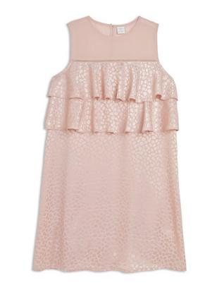 Flounce Dress Pink