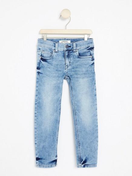 Rovné džíny Modrá