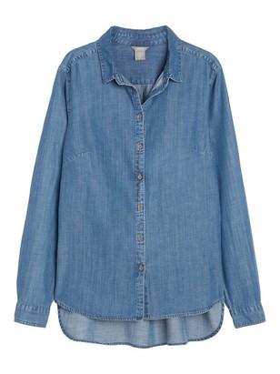 Skjorta i Tencel® blandning Blå