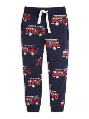 Sweatpants with Print Blue
