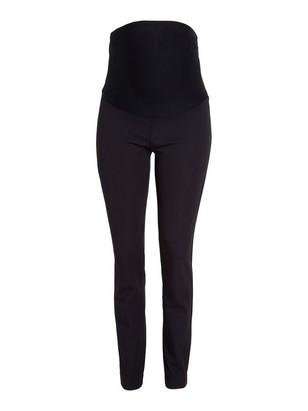 MOM JONNA slim high waist byxa Svart