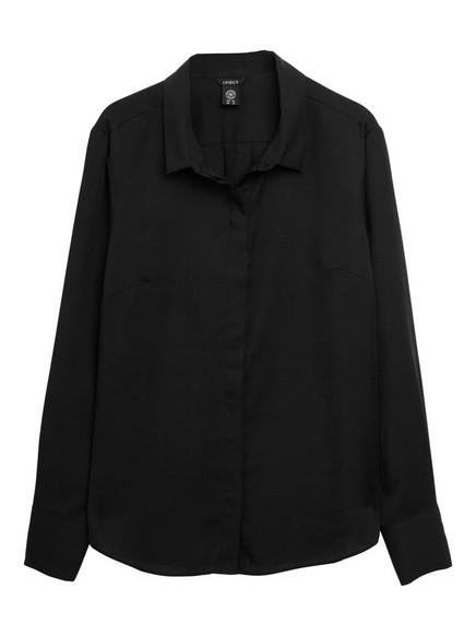 Blouse in Tencel® Black