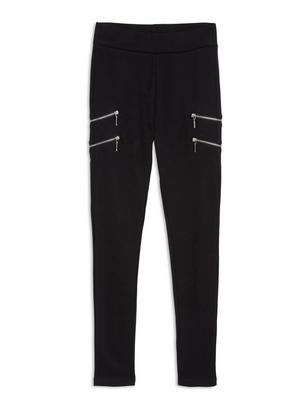 Leggings with Zippers Black