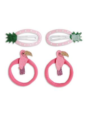 Hair Accessory Set Pink