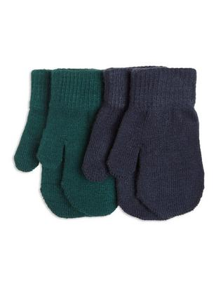 2-pack Magic Mittens Green