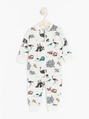 Pyjamas Hvit