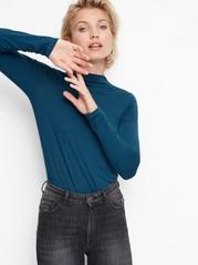 Long Sleeved Top in Tencel® Blend Green
