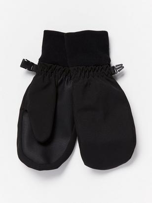 Water repellent mittens Black