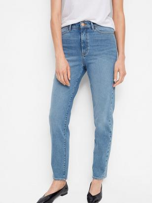 Straight High Jeans Blue
