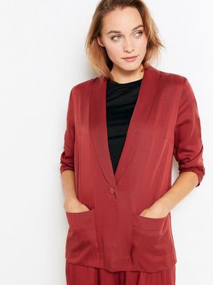 Blazer in Tencel® Red