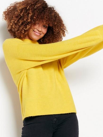 Žlutý svetr Žlutá
