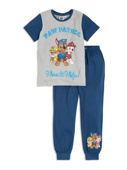 Paw Patrol-pyjamassett Blå