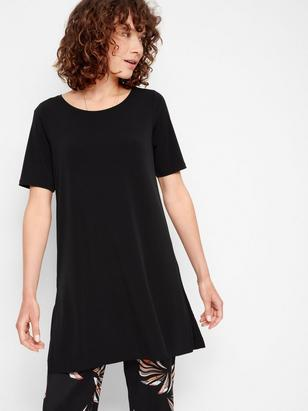 Short Sleeve Tunic Black