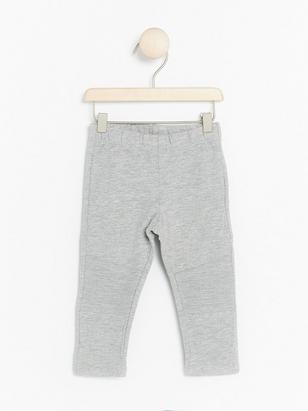 Leggings with Brushed Inside Grey