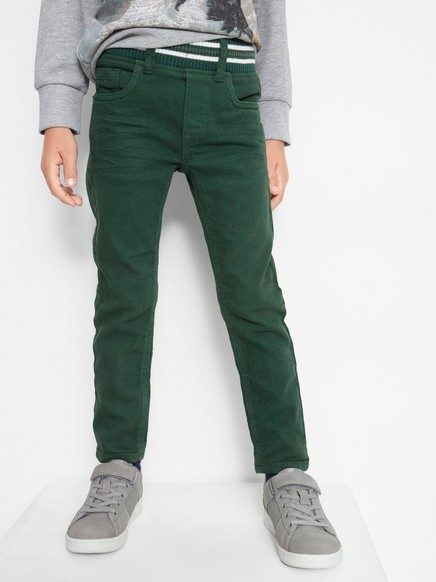 Narrow Trousers Green