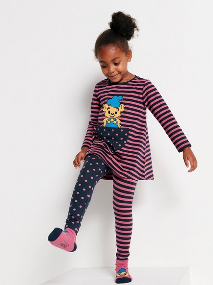 Tunic with Bamse Motif Pink