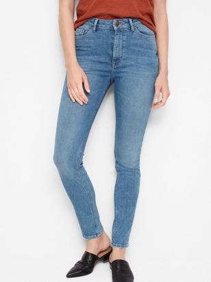 VERA Skinny High Jeans Blue