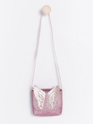 Glitter Butterfly Bag Lilac