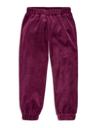 Velour Trousers Lilac
