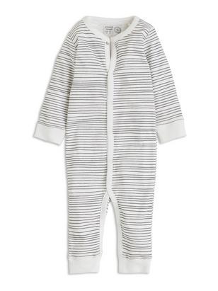 Patterned Pyjamas White