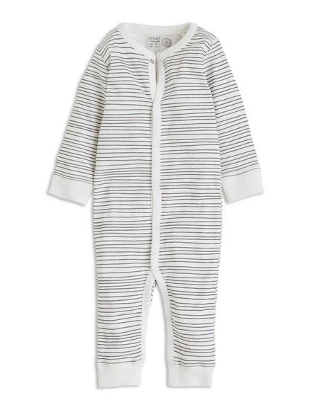 Vzorované pyžamo Bílá
