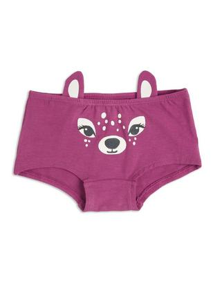 Briefs with Print and Ears Lilac