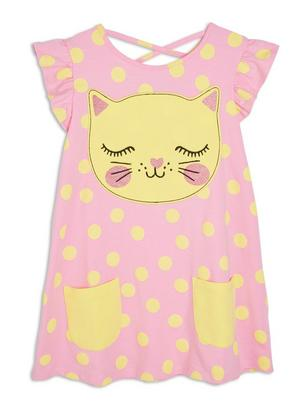 Tunic with Pockets Pink