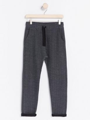 Herringbone Sweatpants Grey