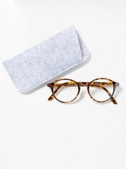 Round Reading Glasses Brown